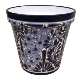 Ceramic Talavera Cone Flower Pot 40cm