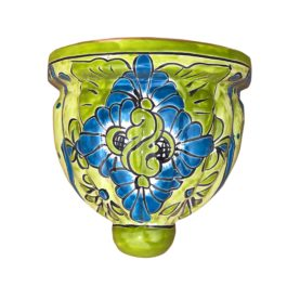 Ceramic Talavera Wall Pot - Medium (27cm)