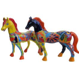 Ceramic Horse - Multi