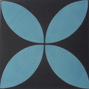 Encaustic Cement Tile – A118 Blue