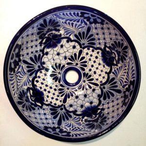Basin Round- Colonial Azul