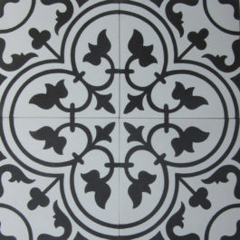 Encaustic Cement Tile A405-A