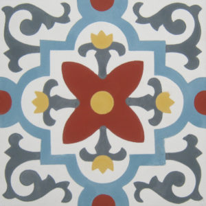 Encaustic Cement Tile A915
