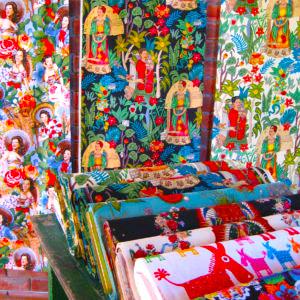 Fabrics, Cushions and Tays