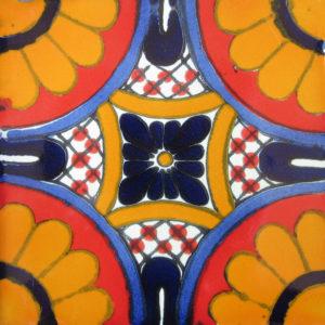Mexican Talavera Tile – AZ 006