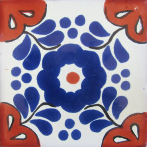 Mexican Talavera Tile – HAD 059 / AZ 025