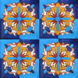 Mexican Talavera Tile – AZ 174