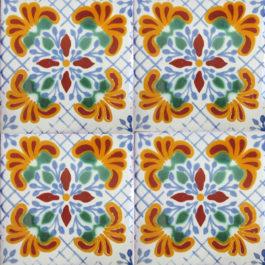 Mexican Talavera Tile – AZ 186