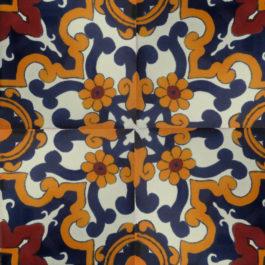 Mexican Talavera Tile – AZ 029