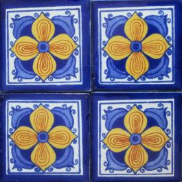 Mexican Talavera Tile – AZ 078