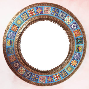 Tiled Mirror - Round (JUST ARRIVED)