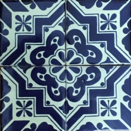 Mexican Talavera Tile – HAD 088-BLUE