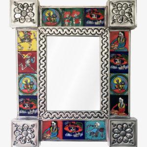 Tiled Mirror- Catrina (14 Tiles)