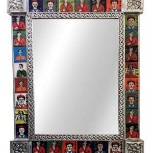 Tiled Mirror- Frida (28 Tiles)
